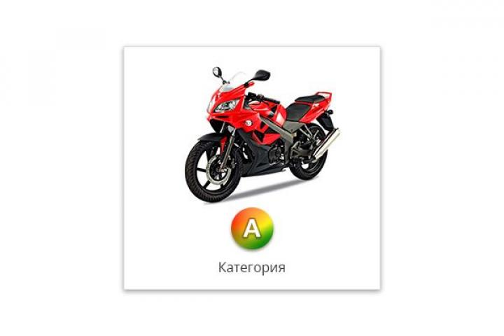 Подготовка водителей кат. «А» - мотоцикл