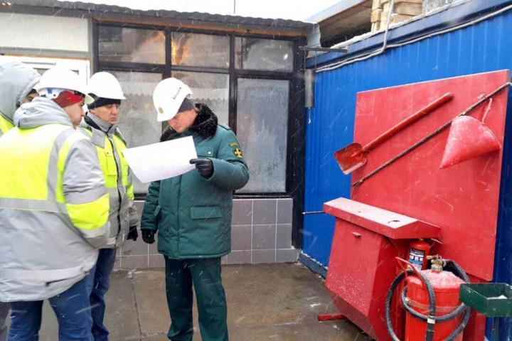 Обучение ПТМ рабочих осуществляющих пожароопасные работы